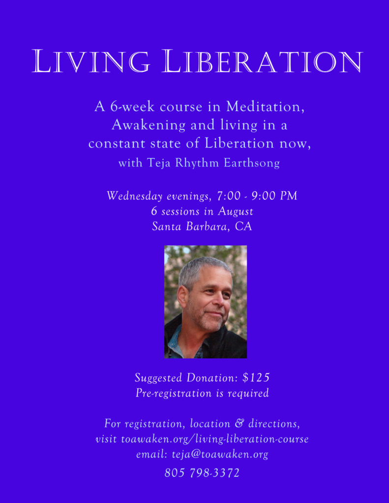 Living Liberation Flyer SB Aug. 16